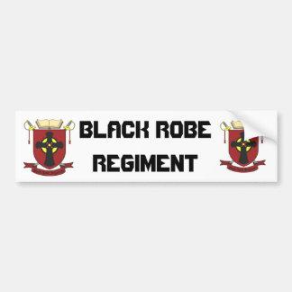 BLACK ROBE REGIMENT CAR BUMPER STICKER