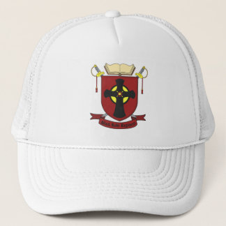 BLACK ROBE REGIMENT TRUCKER HAT