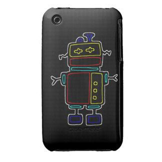 black robot case iPhone 3 cases