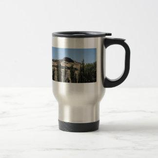 Black Rock and Cypress Travel Mug