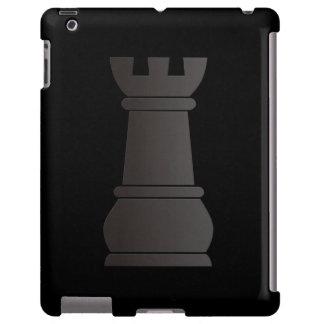 Black rock chess piece