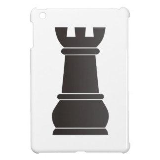 Black rock chess piece iPad mini cover