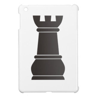 Black rock chess piece cover for the iPad mini