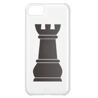 Black rock chess piece iPhone 5C case
