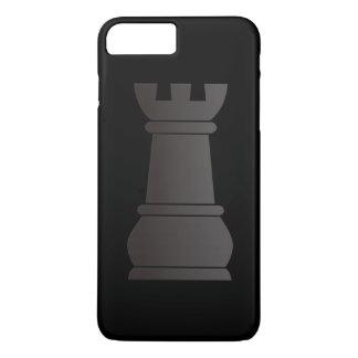 Black rock chess piece iPhone 7 plus case