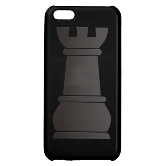 Black rock chess piece case for iPhone 5C