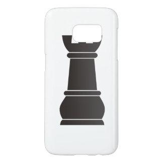 Black rock chess piece samsung galaxy s7 case