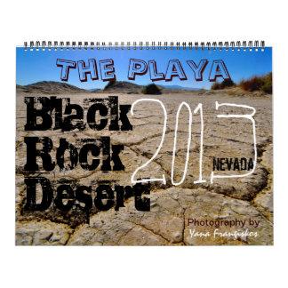 Black Rock Desert Playa Calendar 2013-2014