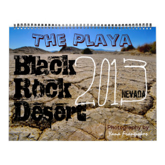 Black Rock Desert Playa Calendar 2013-2014