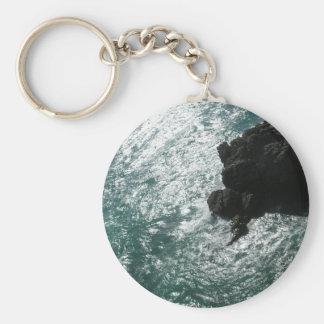 Black Rock Basic Round Button Keychain
