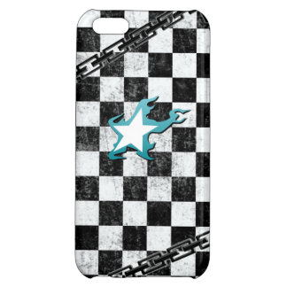 Black Rock Shooter checker iPhone 5C Cases