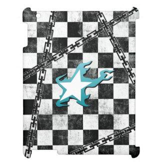 Black Rock Shooter star & checker iPad Cases