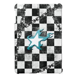 Black Rock Shooter star & checker iPad Mini Cover