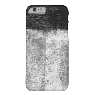 Black rolled paint iPhone 6 cover