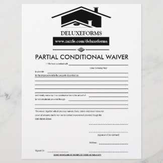 Black Roof Partial Conditional Waiver