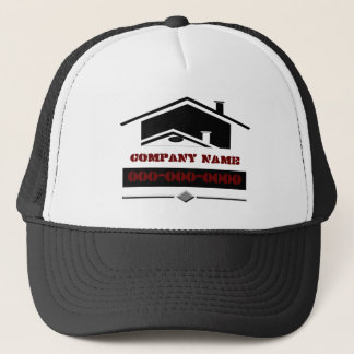 Black Roof Trucker Hat