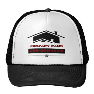 Black Roof Trucker Hat