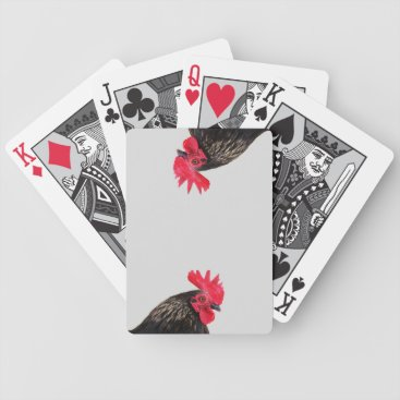 tianxinzheng Black Rooster Bicycle Playing Cards