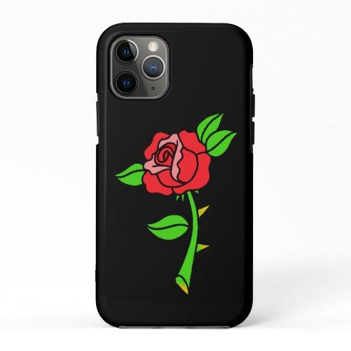 Black Rosa iPhone 11 Pro Case