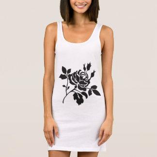 Black-Rose-Beach-Dress(c)Tanks-T-Shirts-Multi Sleeveless Dress