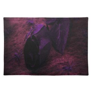 Black Rose Cloth Placemat
