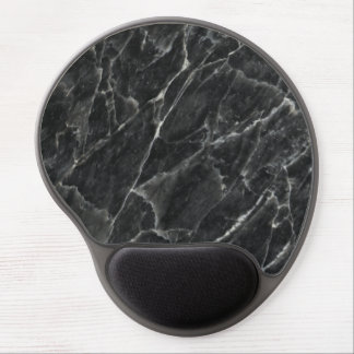 Black Rose Decorative Stone - Veins & Character Gel Mouse Pad
