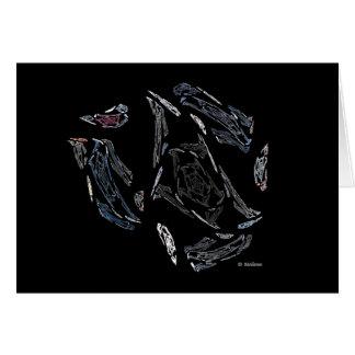 Black Rose Greeting Card