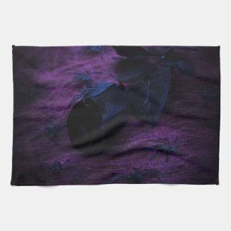 Black Rose Kitchen Towel