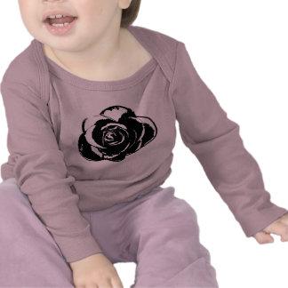 Black Rose Long Sleeve T-shirts