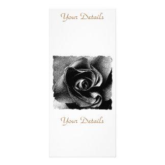 BLACK ROSE RACK CARD TEMPLATE