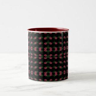 Black Rose Rug Mug