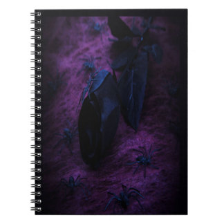 Black Rose Spiral Notebook