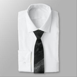 Black Rose Stone Pattern Background Tie