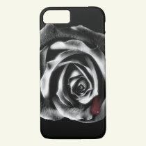 Black rose vampire iPhone 7 case