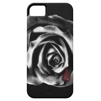 Black rose vampire iphone case iPhone 5 case