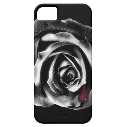 Black rose vampire iphone case