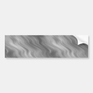 Black Rose Wavy Texture Bumper Sticker