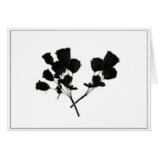 Black Roses: FOAD Card