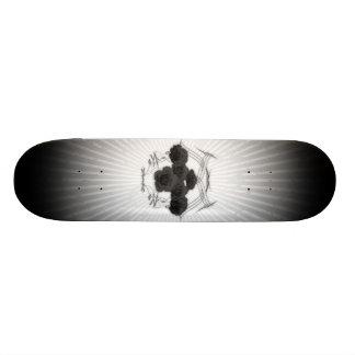Black Roses & Tribals: Custom Skateboard
