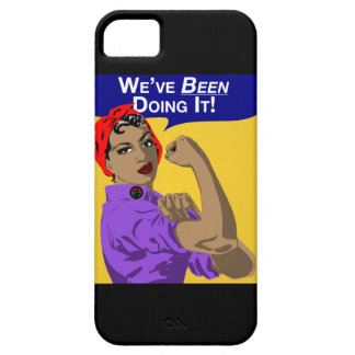 Black Rosie-Weve Been Doing It iPhone SE/5/5s Case