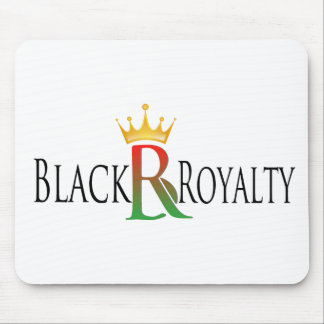 Black Royalty Mouse Pad