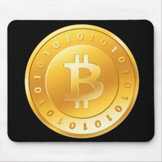 Black rug Bitcoin - M2 Mouse Pad