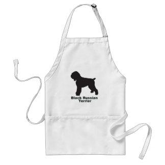 Black Russian Terrier Adult Apron