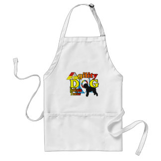 Black Russian Terrier Agility Adult Apron
