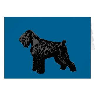 Black Russian Terrier Card