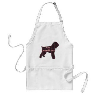 Black Russian Terrier Gifts Adult Apron