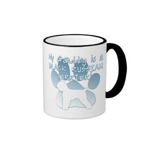 Black Russian Terrier Granddog Mugs
