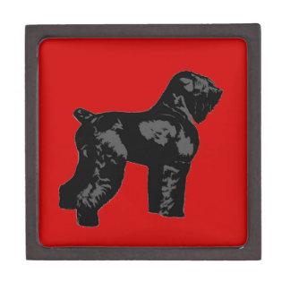 Black Russian Terrier Jewelry Box