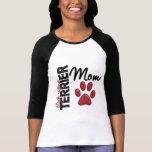 Black Russian Terrier Mom 2 T-shirt