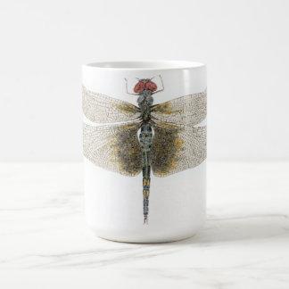 Black Saddlebags Dragonfly Coffee Mug